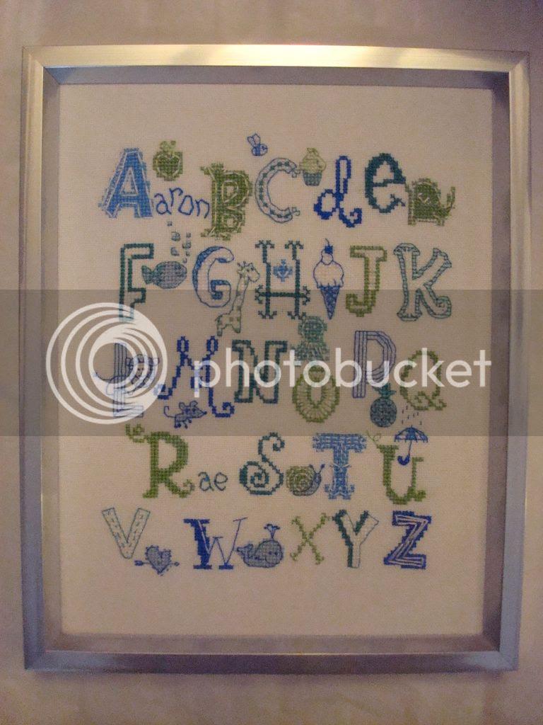 DSC03239TurquoiseBabySampler.jpg Turquoise ABC Sampler