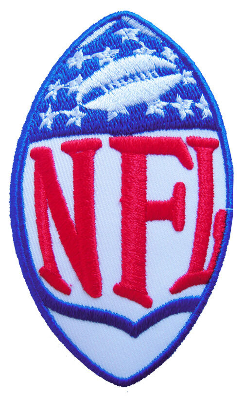 New NFL National Football League Logo embroidered iron on patch. i120  eBay