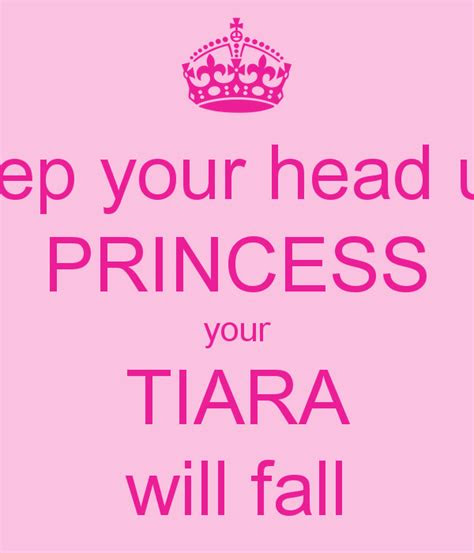 Keep Your Head Up Princess Quotes