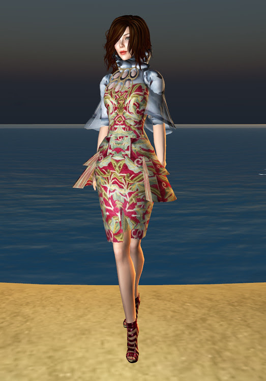Niven 10 Linden Floral Dress
