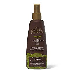 Silk Elements Megasilk Olive Heat Protection Spray Review  via  www.productreviewmom.com