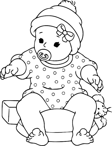 Get Inspired For Baby Coloring
