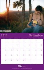 Calendario FEDEGALMA 2010 Setembro