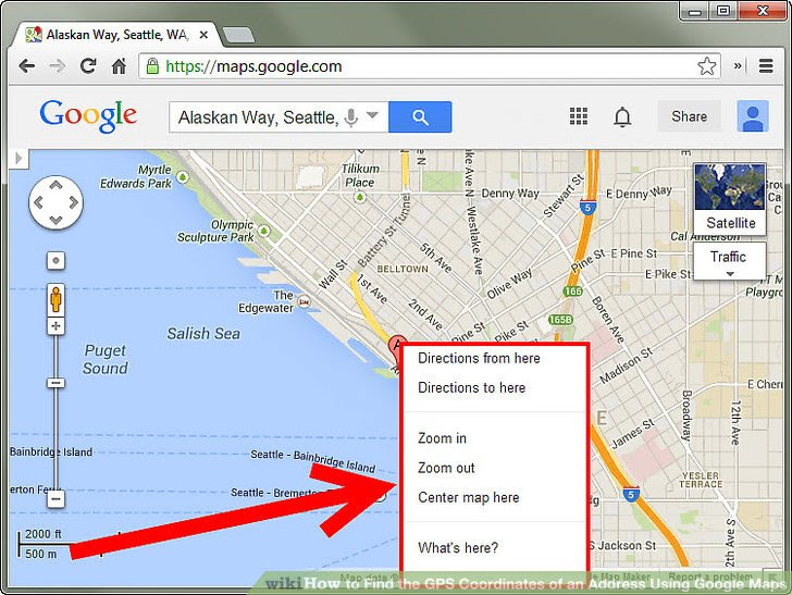 How To Find The Gps Coordinates Of An Address Using Google