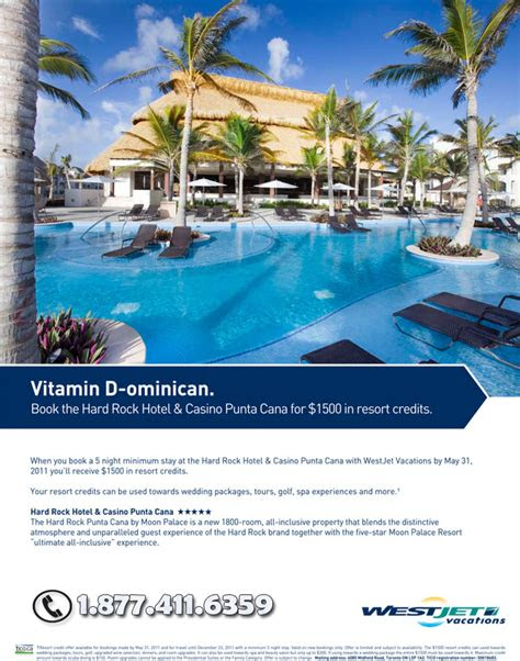 westjet vacations westjet vacations vitamin  ominican