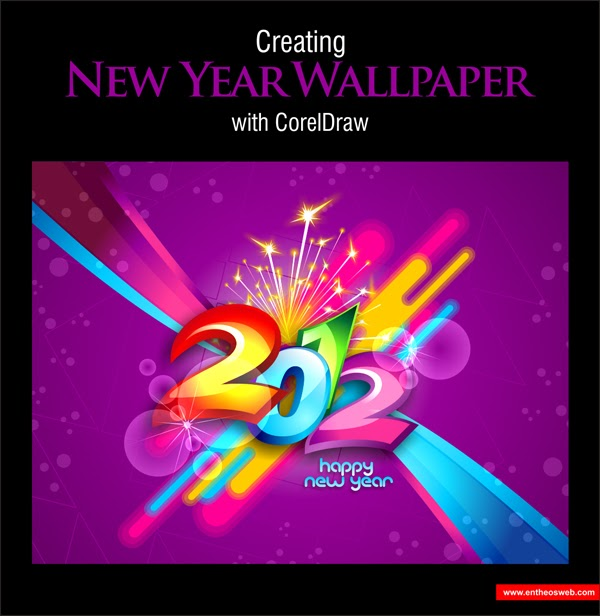 Corel Draw Desain Background Background Banner Keren ...