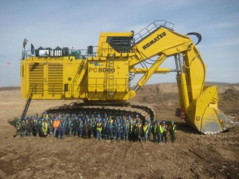 The 5 Largest Hydraulic Excavators In The Worldworlifts