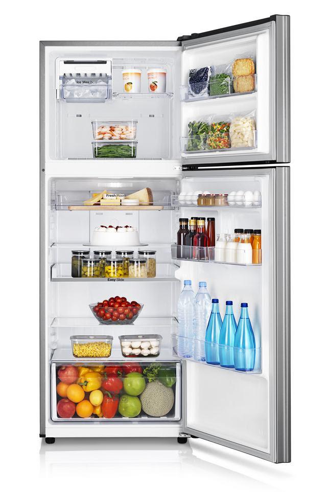 Új Samsung felülfagyasztós hűtőszekrények - praktikus helykihasználás és lenyűgöző kivitel 5