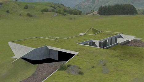 Invisible' Set of Green Homes to be Hidden Underground | Designs ...