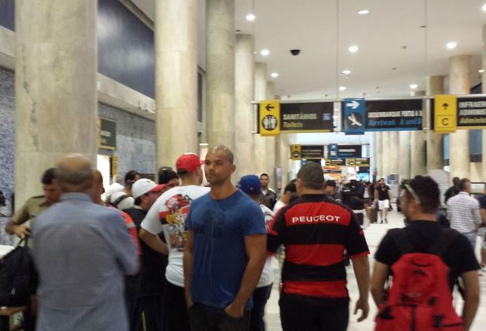 Desembarque Flamengo (Foto: Raphael Zarko)