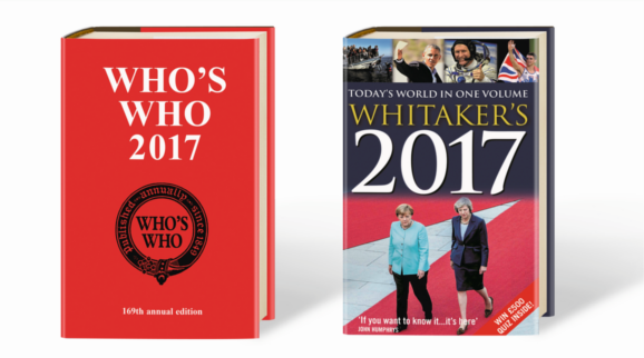 Whitaker's and Who's Who 2017