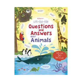 Usborne Lift-The-Flap: Questions and Answers About Animals ...