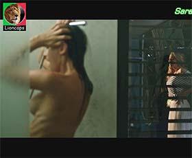 Sara Prata sensual no filme Alguém como eu