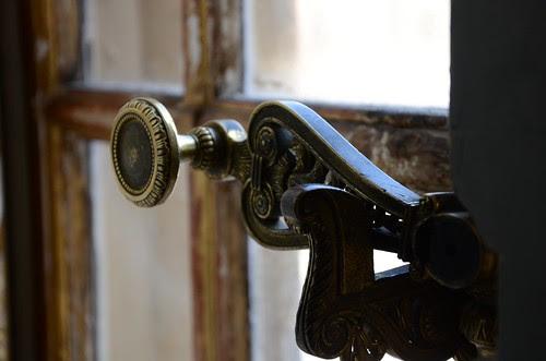 Window latch, Palace de Versailles