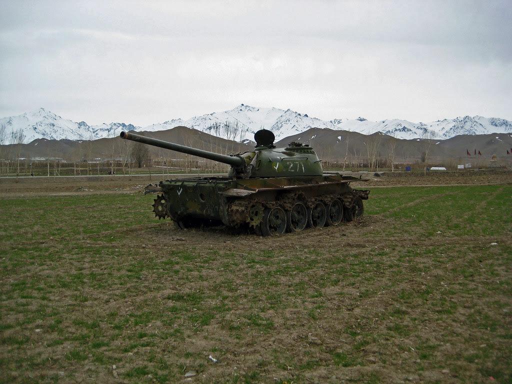 Abandoned Soviet Tank