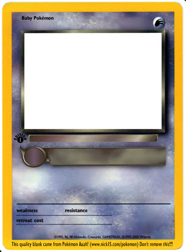 Pokemon Hd How To Make Your Own Pokemon Card
