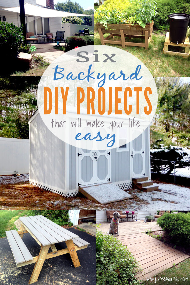 6 Backyard DIY Projects That Make Life Easier | Just Measuring Up