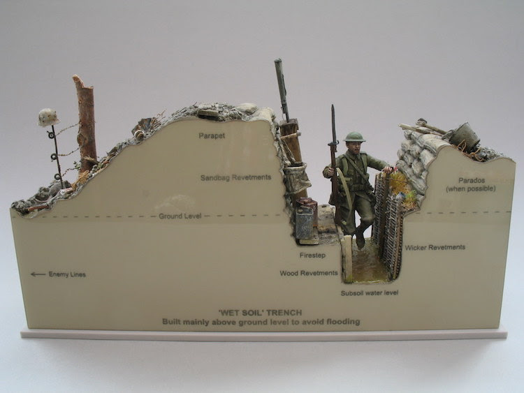 wwi military trench models andy belsey 9