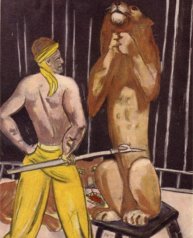 Sold: The Lion Tamer by painter Max Beckmann was one of the paintings in the collection Gurlitt has already sold