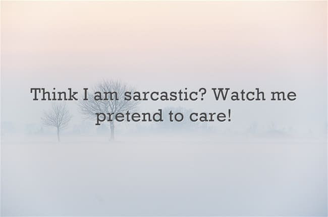 80 Best Sarcastic Quotes And Funny Sarcasm Sayings