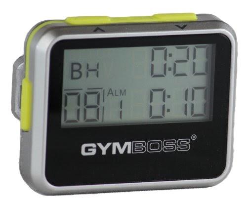 Sport chronom tres gymboss minuteur d 39 intervalle et - Chronometre et minuteur ...