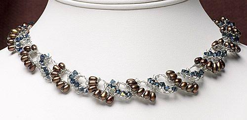 Not your grandmother's crochet: necklace, bead crochet (Download Now)