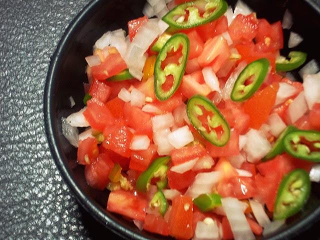 Tomato Onion Serrano