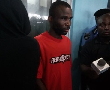 Video: Man who killed five-day-old baby he fathered with the younger sister of his pregnant wife, pleads for forgiveness