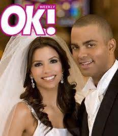 Wedding: Eva Longoria & Tony Parker   KOUROUMA Fashion Rundown