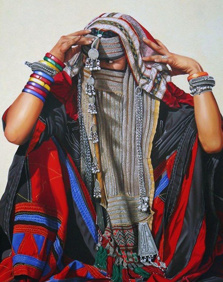 Africa | Rashaida woman | ©Cathy Chalvignac