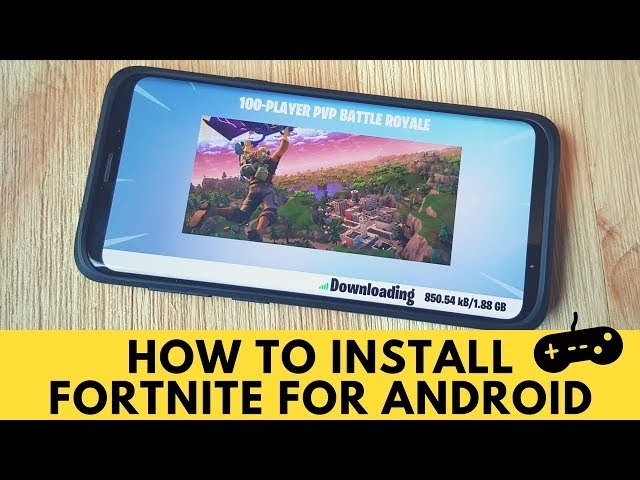 Play Fortnite Android On Unsupported Device | Fortnite Chest Toy