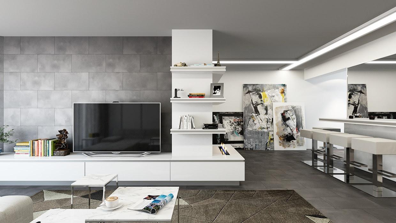 Tile Wall For Living Room Thar Marbles