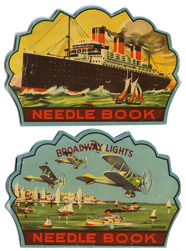 Broadway Lights Needle Book_tatteredandlost