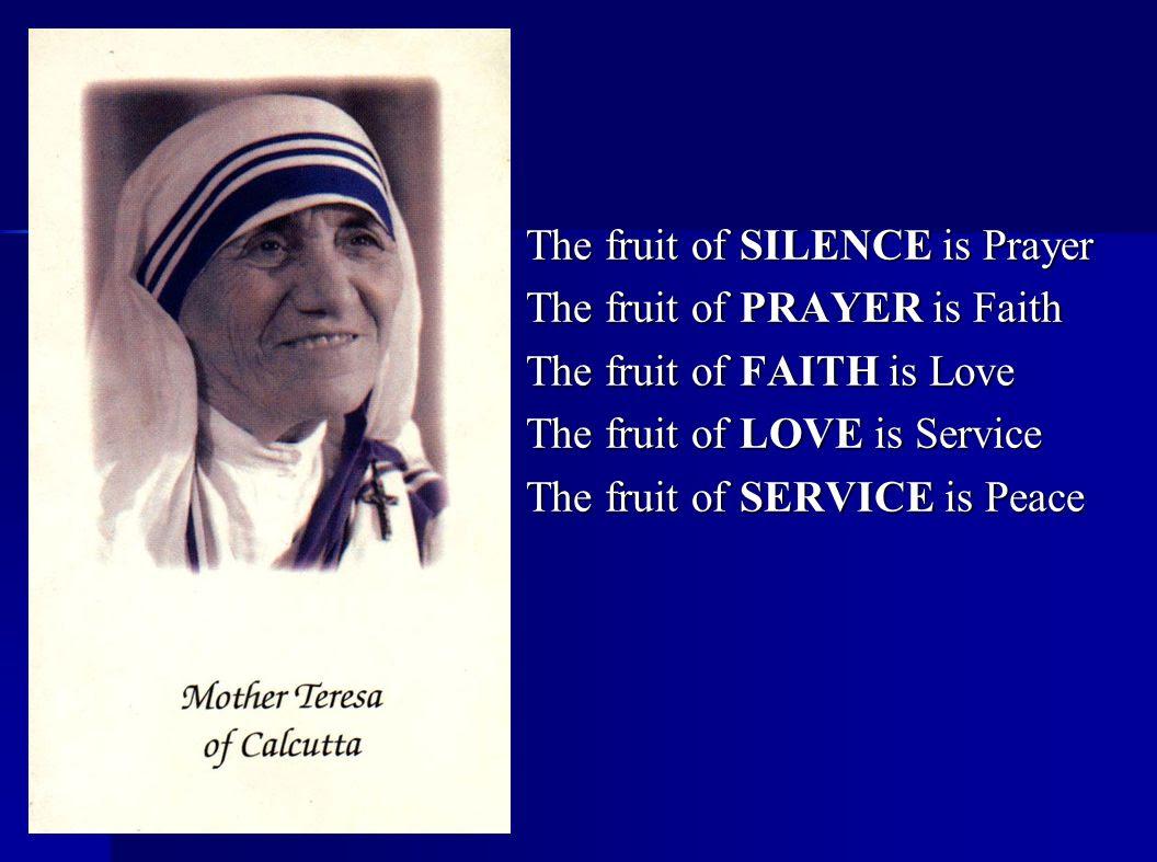 Mother Teresa Quote Saint John School