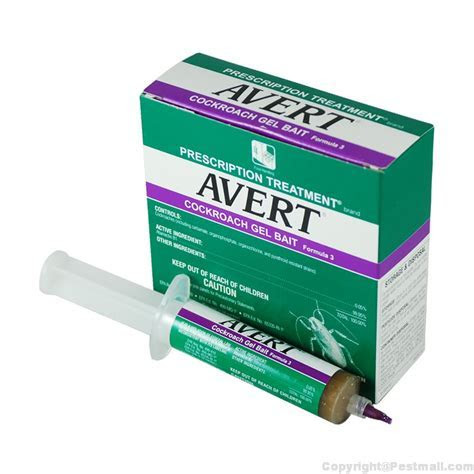 Buy Avert Cockroach Bait Gel 1 Box to Get Rid of General Pests at $24.95   Pestmall