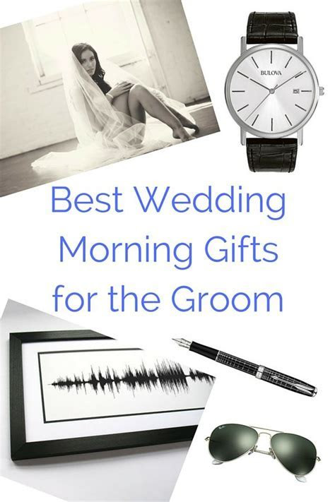 51 Best Wedding Morning Gifts for the Groom   Love
