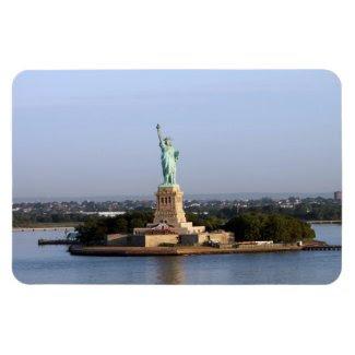 Good Morning Lady Liberty Premium Flexi Magnet