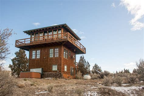 forest fire lookout tower house exteriors