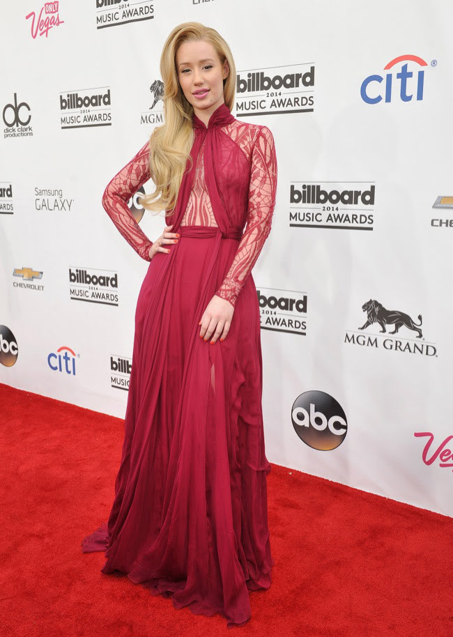 iggy azalea zuhair murad 2014 Billboard Music Awards Red Carpet Style