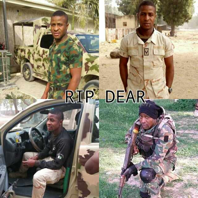 Holland Chukwudubem A Dead Soldier: Another Fallen Hero