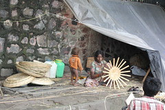 The Pavement Dwellers - Basket Weavers of Bandra Reclamation by firoze shakir photographerno1