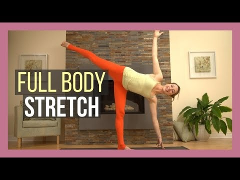 yoga full body stretch  slow flow total body flexibility