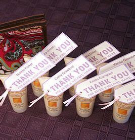 Hand Lotion Tags   10 Quick and Easy Volunteer Gifts