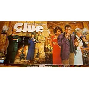Clue: Parker Brothers Classic Detective Game - 1996 Edition