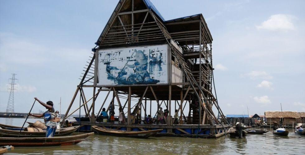 Colegio Flotante de Makoko.
