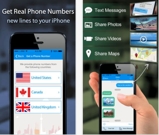 25 Android and iPhone Second Phone Number Apps for Business Only Calls - Dingtone