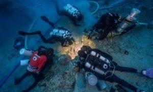 Ναυάγια Αντικυθήρων : Βρήκαν οστά επιβαίνοντα στο πλοίο