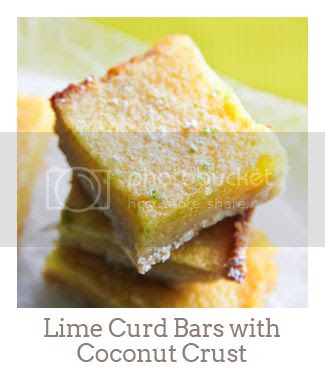 """""""Lime Curd Bars with Coconut Crust"""""""
