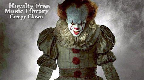 creepy clown scene background instrumental  royalty