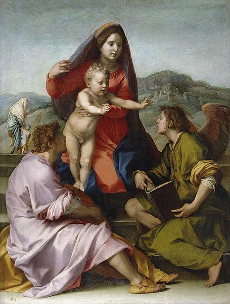 Fil: Madonna della Scala (Andrea del Sarto) .jpg